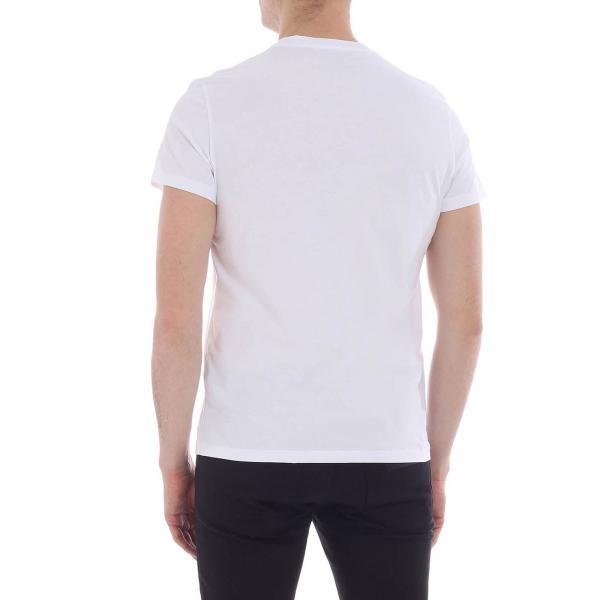 Balmain Blanco 2019 Rh01601131giglio verano Primavera Hombre Camiseta pvqn7Z5