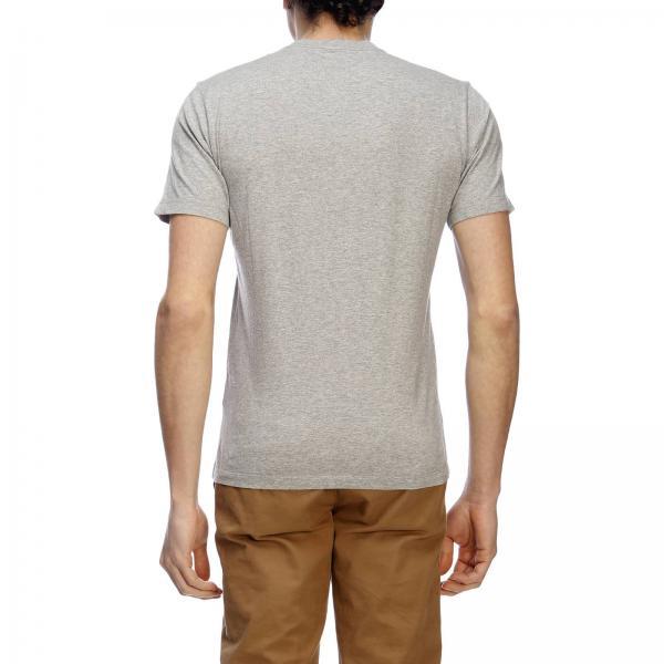 Maniche A Logo shirt C Con pCompany Corte T Maxi iPkXZu