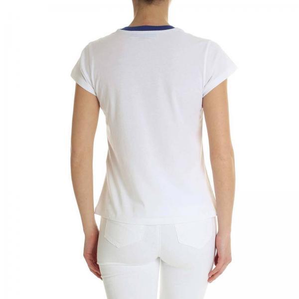 Blue D345l308 2019 Ermanno Scervino verano Mujer Camiseta Tkagiglio Primavera 1xgqt78