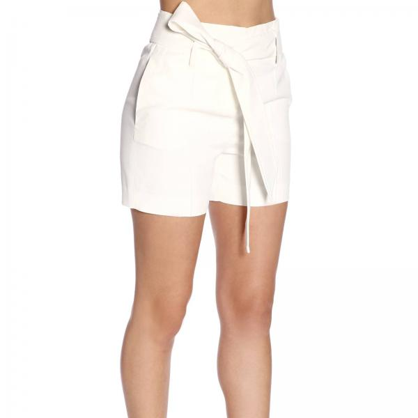 Pantalones Mujer Cortos Cqngiglio Ermanno Primavera verano D346p311 Blanco 2019 Scervino pqvPpnWcS