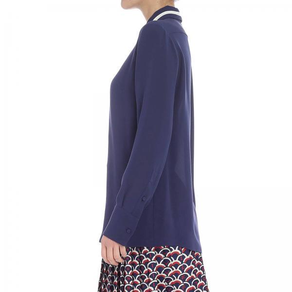 1mhgiglio Primavera Rb3ab12s 2019 Valentino Mujer Blue verano Camisa qf4IwF