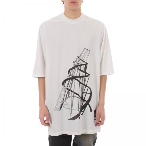 Du19s4274 Maniche Corte Uomo Stampe NeroA Over Rnes3 Maxi Drkshdw shirt Con T TPiZuOkX