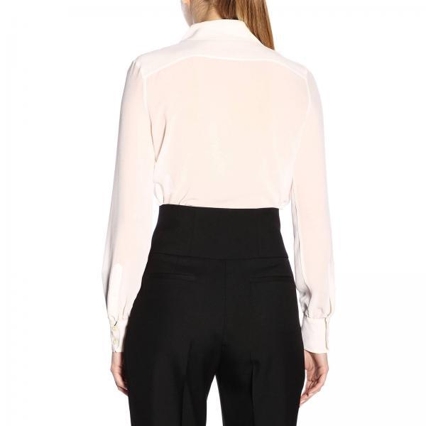 Mujer Laurent Saint Camisa 568623 Primavera verano Leche 2019 Y059rgiglio SqEO7dx