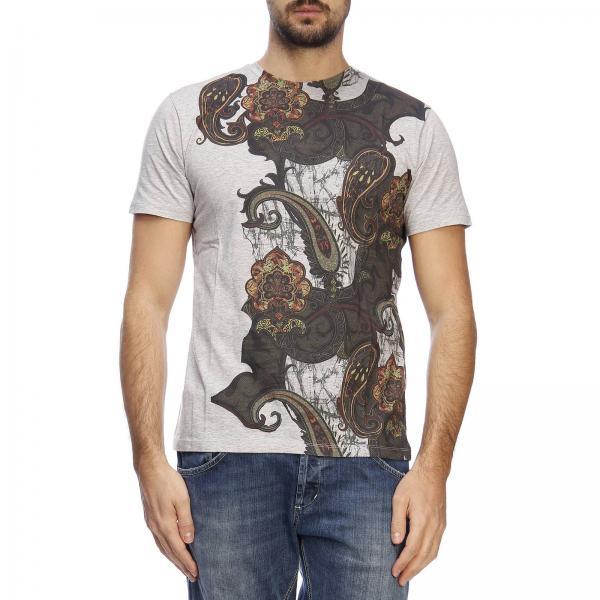 A Maniche Con shirt Corte Floreale T Stampa hrtsQd