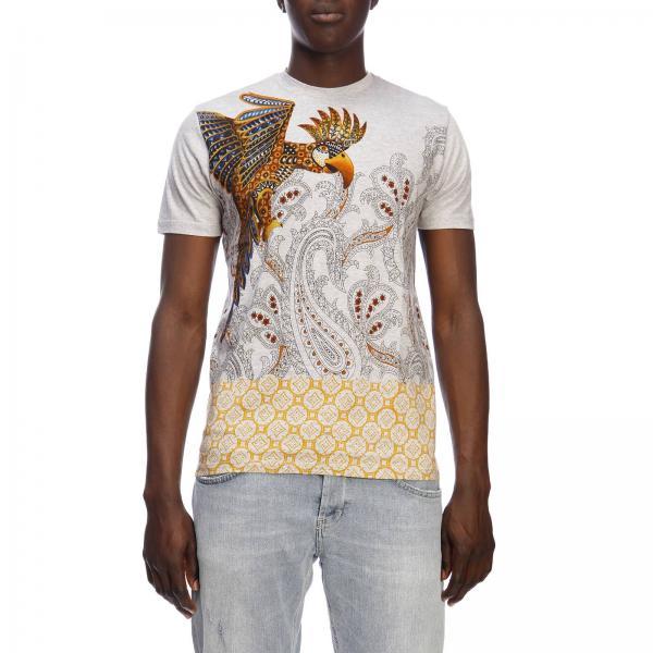 9344giglio verano Primavera Jade Camiseta Hombre 2019 1y020 Etro TqzwU