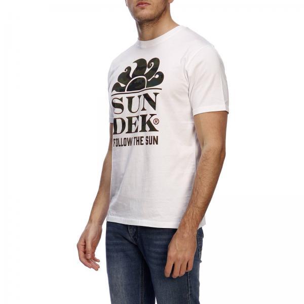 Hombre verano Primavera Sundek 2019 M026tej7853giglio Camiseta zqwTdUz