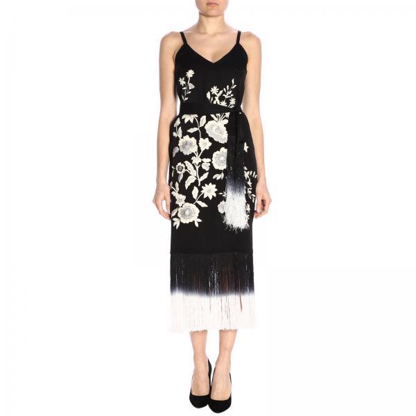 aa3d2624b09c84 Twin Set Women's Black Dress | Dress Women Twin Set | Twin Set Dress ...