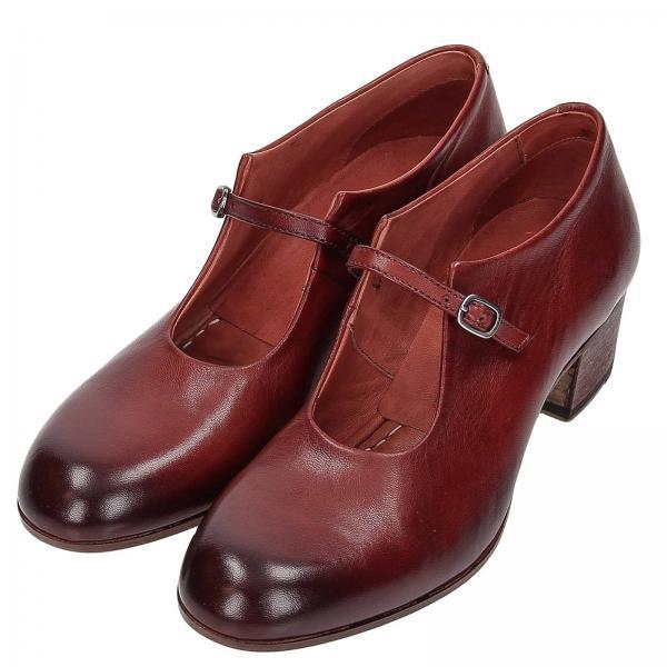De Primavera Rojo 2019 verano Mujer Tacón Zapatos Pantanetti 12260dgiglio pq7HHw