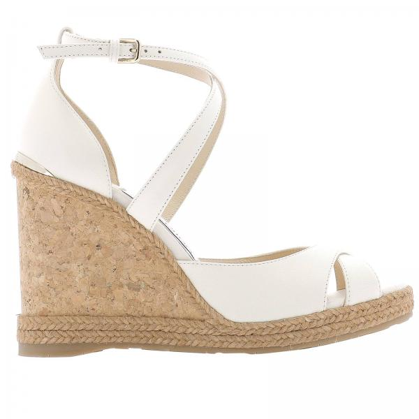 Wedge shoes Jimmy Choo ALANAH 105 NBE
