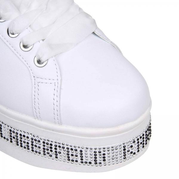 verano Lagerfeld Mujer 2019 Zapatillas Karl Kl61450giglio Blanco Primavera Rq7nYxHn