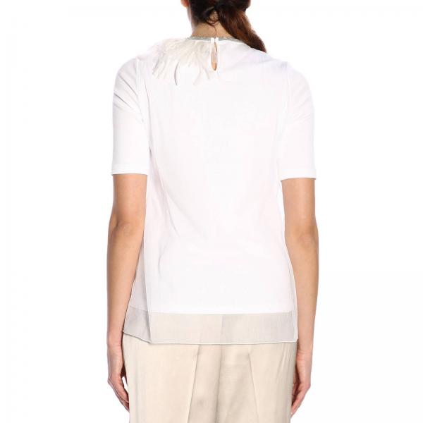 verano Filippi H249giglio Je46719 2019 Primavera Fabiana Blanco Camiseta Mujer q1xSSAv