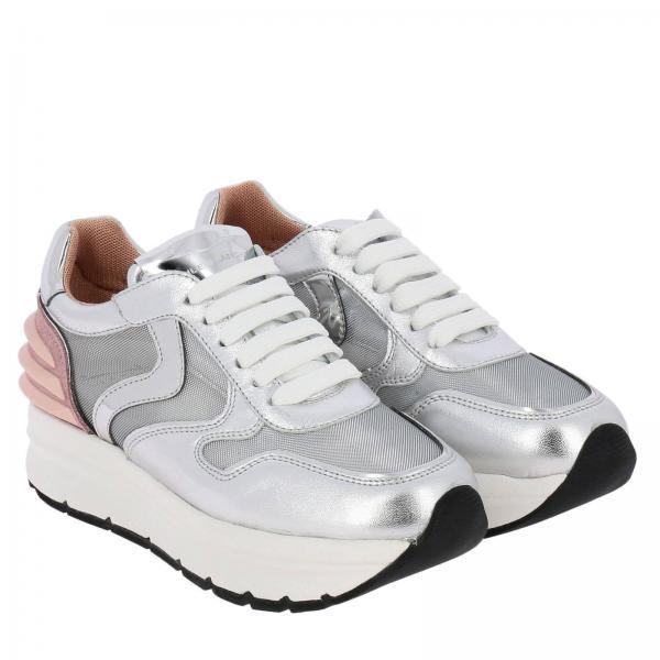 Zapatillas Voile Plata 2019 Blanche verano 1q19giglio Mujer Primavera 11rq5O