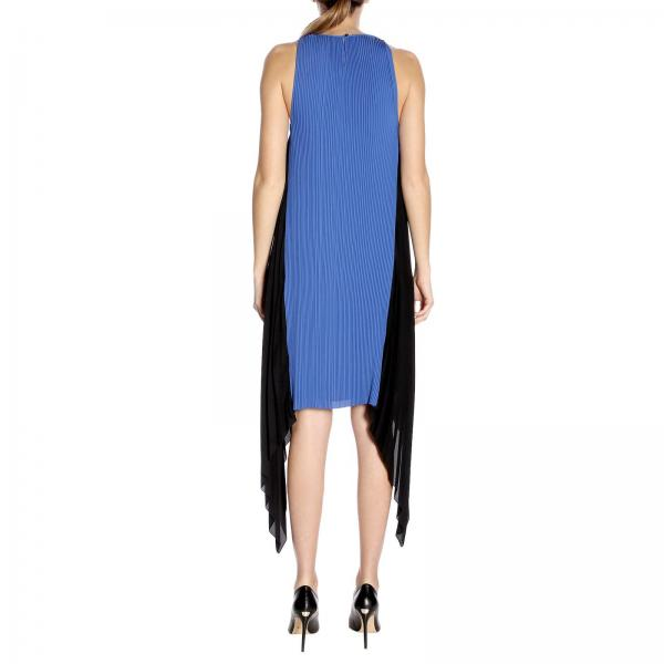 Kenzo F952ro1205afgiglio Mujer Vestido verano 2019 Blue Primavera CqPwFna5