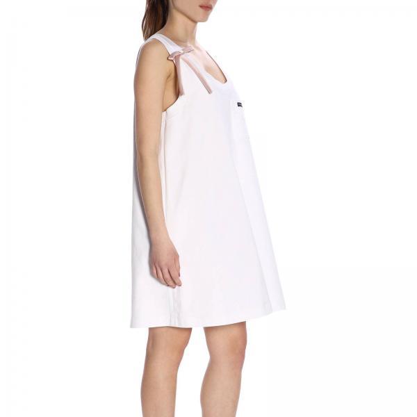 Vestido 1uijgiglio 2019 Primavera Blanco Mujer verano 33534 Prada rwqOfrI