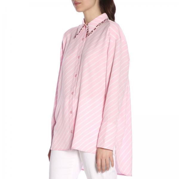 2019 Striped Primavera Essentiel Camisa Shreyagiglio Antwerp Mujer verano HFKx0T