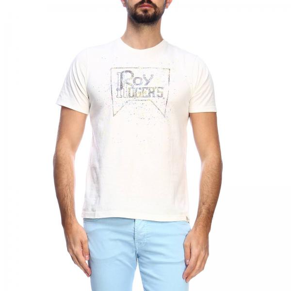 Rru553c7480000giglio Hombre Roy Rogers Blanco Camiseta Primavera 2019 verano 76qZBB