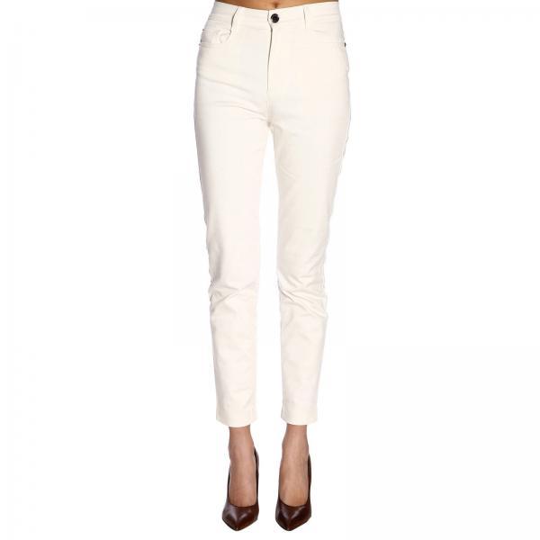 Jeans Flp673giglio Fendi Mujer verano Blanco Primavera 2019 0qURw04z