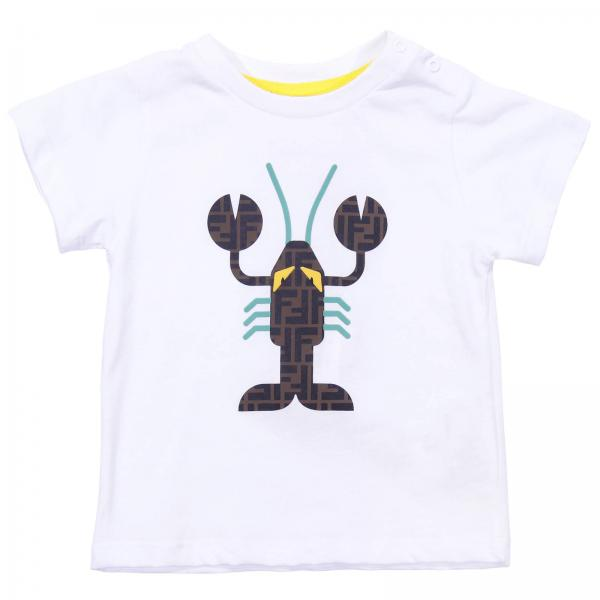 T-shirt kids Fendi