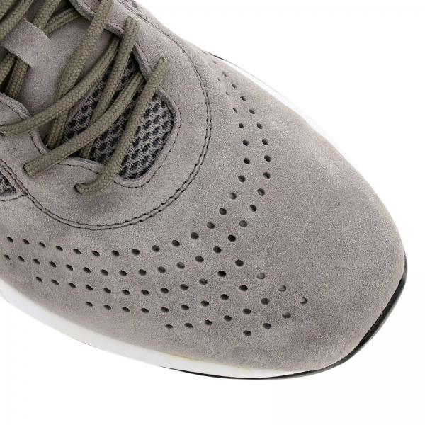 Neoprene Stringata Camoscio E T Traforato Maxi Sneakers Con Tod's In KJTl1Fc