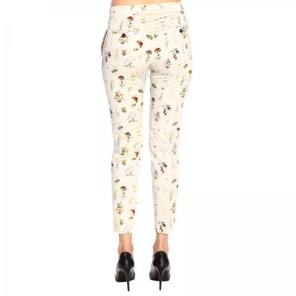 Cream Qtygiglio Pantalón verano Mujer Primavera Ntw8038471s Fay Yellow 2019 FxHwwOq