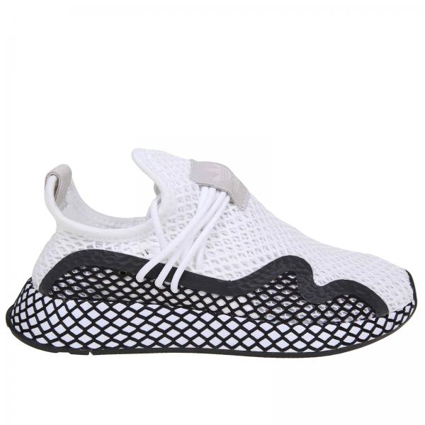 Blanco 2019 Originals Primavera Zapatillas Bd7874giglio Mujer verano Adidas w4OqO8