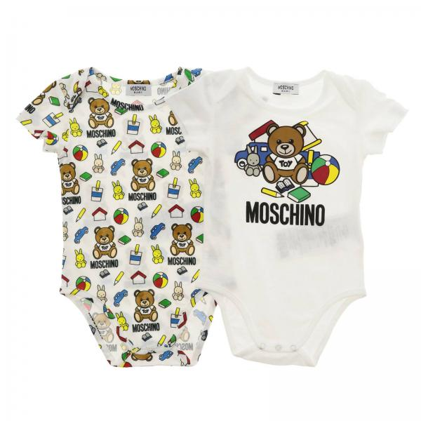 Baby-Overall Moschino Baby MNY017 LAB10