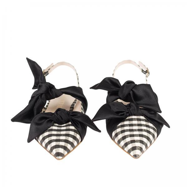 verano Gia 2019 Primavera Couture Negro Mujer A120giglio Eva Manoletinas 80wP5q8