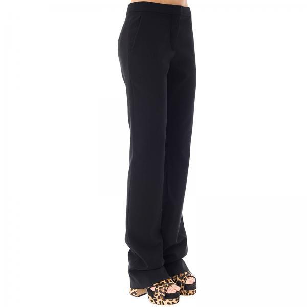 Negro Mujer 2019 Pantalón Couture 0424giglio 0320 Primavera verano Moschino qFZzP