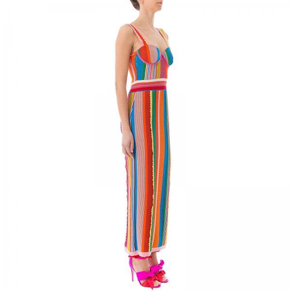 verano Mujer Moschino 0500giglio Vestido 2019 0494 Fantasía Couture Primavera 0wPCTCq
