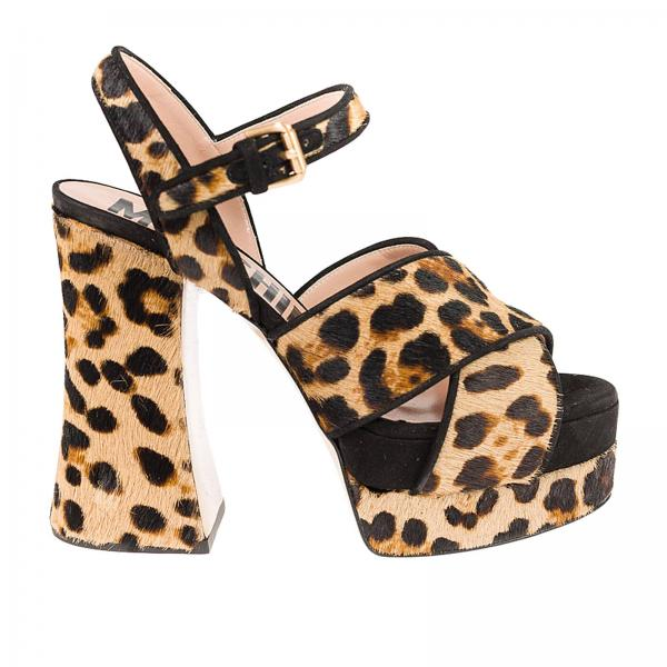 Heeled sandals Moschino Couture MA1605CC17 MG0