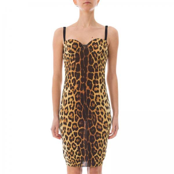 Moschino 0503giglio 0490 verano Negro Vestido 2019 Mujer Primavera Couture pxaqHS5H