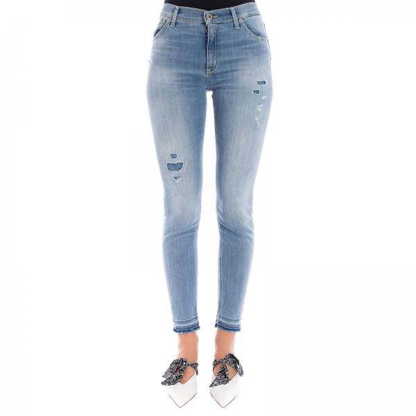 Primavera Jeans Blue Dp349 2019 Dondup Mujer Ds0112giglio verano xXXSq1pfwr
