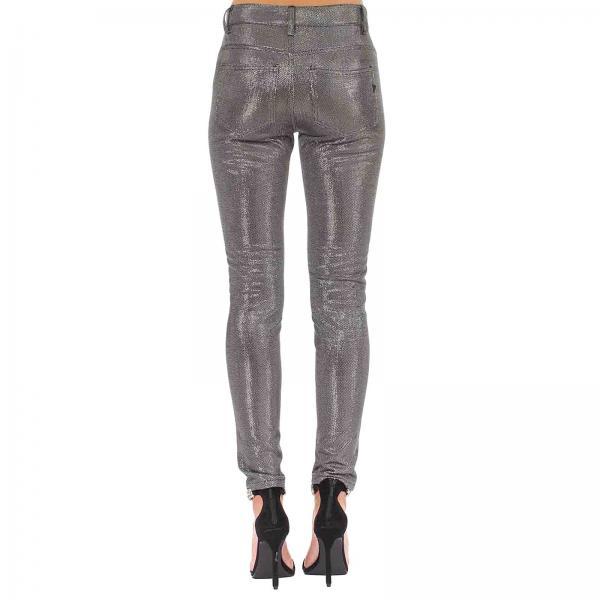 Dondup Silver Mujer verano Primavera Dp237g 2019 Pantalón Coloured Js0223cgiglio qFgSdq5U