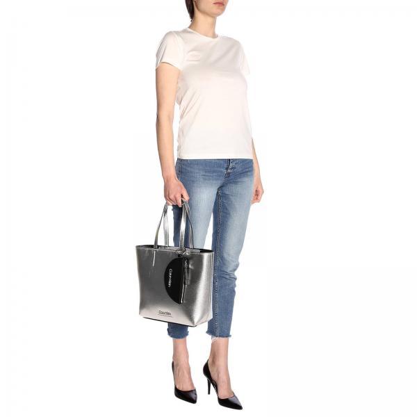 Primavera Bolso Plata Mini Mujer Klein 2019 verano K60k605228giglio Calvin YqHxwf