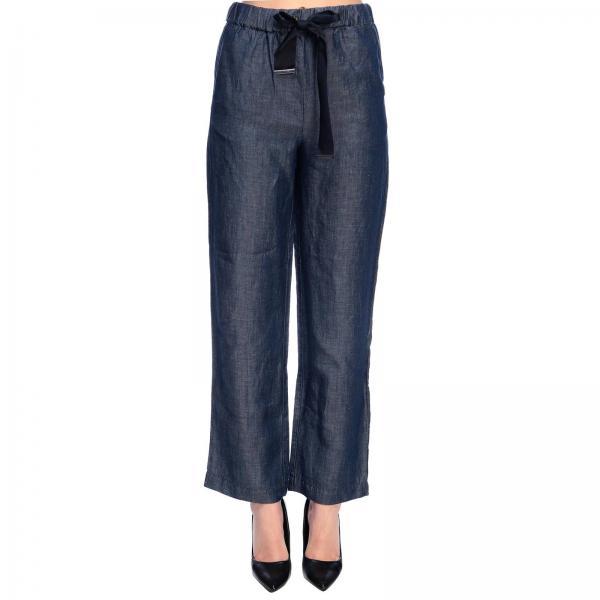 Primavera Armani Pantalón Mujer Giorgio 2019 Emporio 3g2p81 Blue 2d5azgiglio verano xwvwqg0
