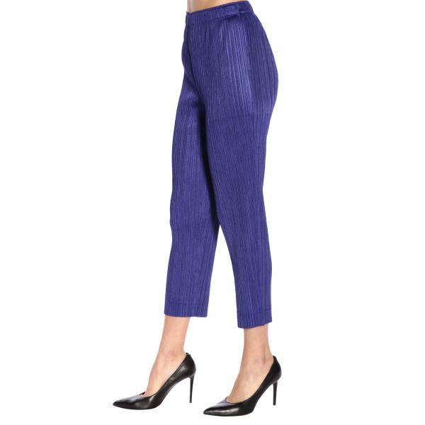 verano 2019 Primavera Blue Miyake Issey Mujer Pantalón Pp96jf514giglio vWHqZ7SWw