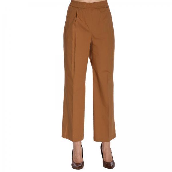Primavera Mujer verano Twin 191st2042giglio 2019 Tobacco Pantalón Set X4wvn4BS