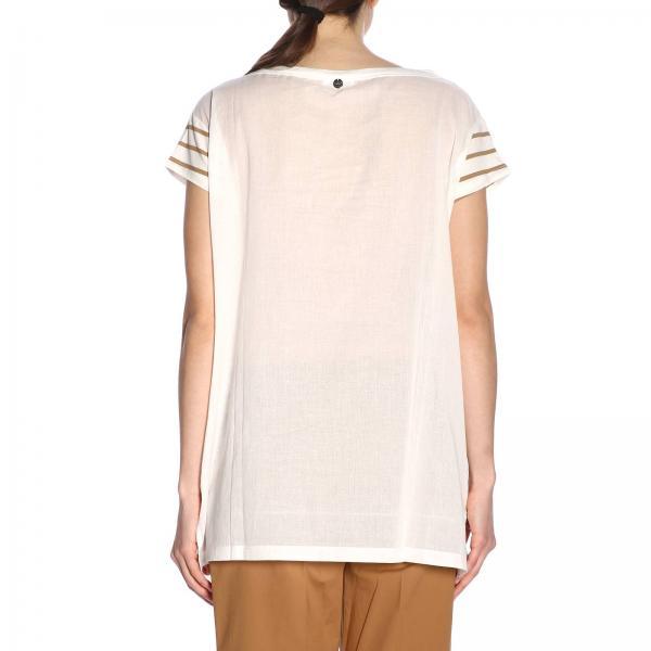 Twin Set verano 191st2091giglio 2019 Mujer Primavera Striped Camiseta SEq5wO