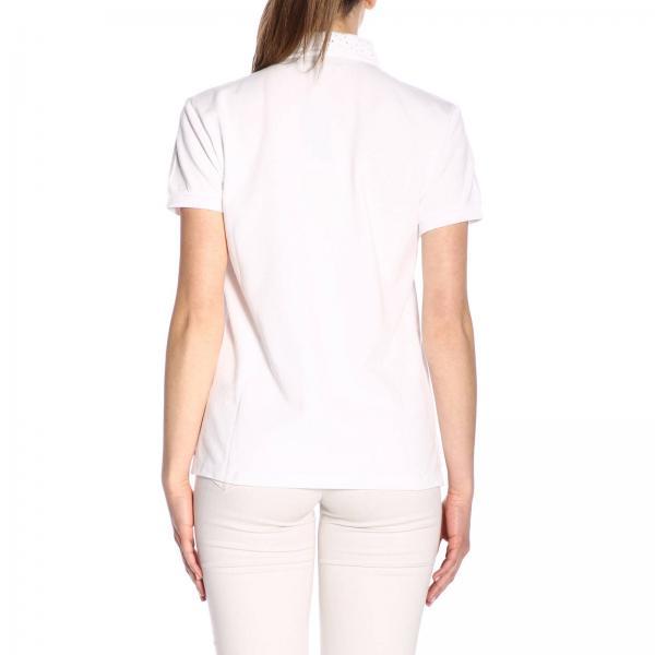 Ralph 211744674giglio Lauren 2019 Camiseta verano Mujer Primavera Polo Blanco EFqxgWROB
