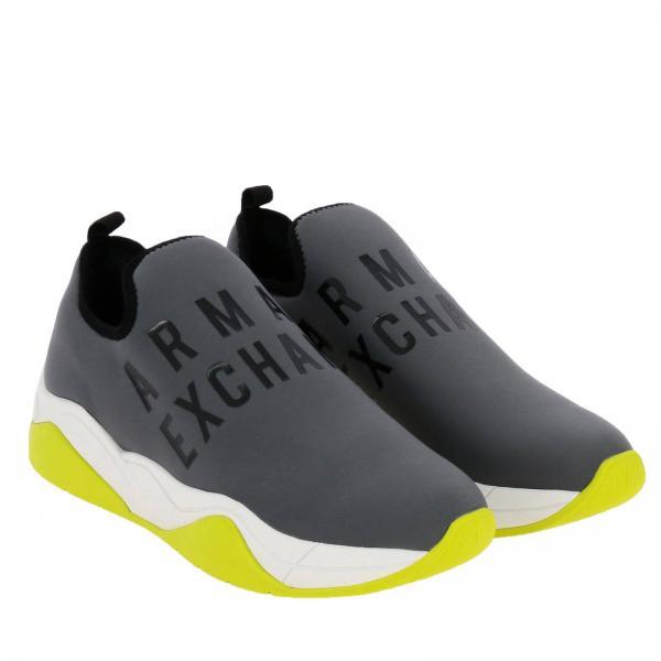 Armani Zapatillas Primavera Exchange Mujer 2019 Carbón Giorgio Xv116giglio verano Xdx021 55arwq