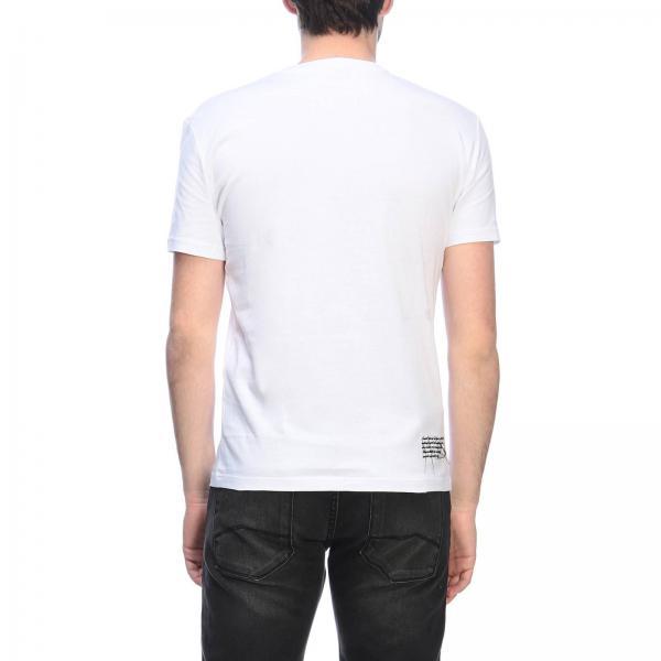 T Exchange Maniche Corte A Armani Stampa Logo Con shirt Maxi VGSUMLpqz