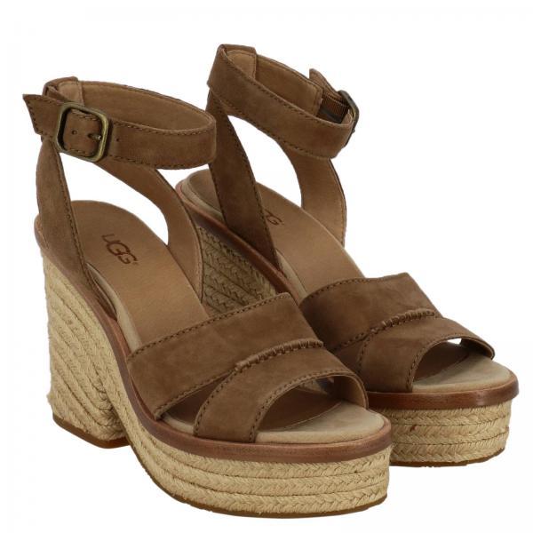 Mujer Leather Zapatos 2019 Cuña Primavera De verano 1102785wgiglio Australia Ugg qZXEwC