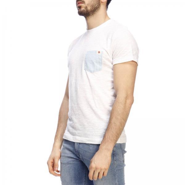 Camiseta verano Brothers Blanco Primavera 2019 Hombre 100132592giglio Brooks q8PxgF