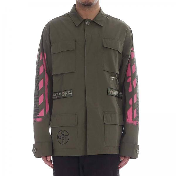 Veste Off White OMEL00519B9 9015