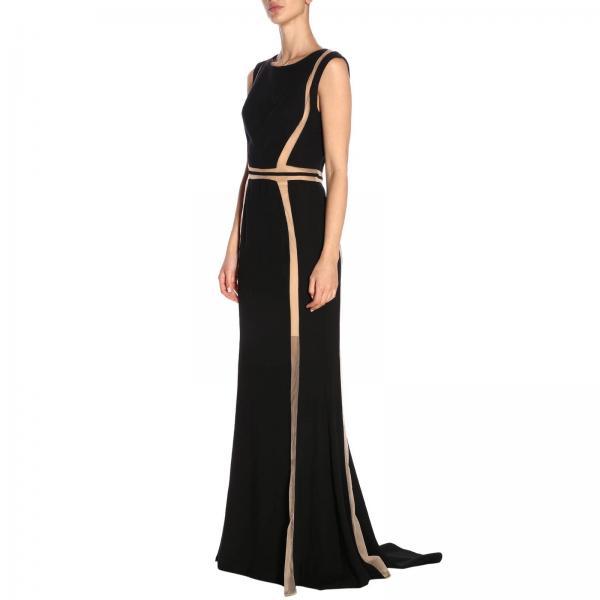 8910giglio 2019 Mujer Forever Negro Unique verano Vestido Primavera xqZUSW