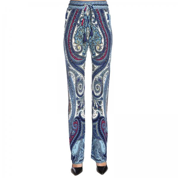 Paisley By FantasiaAmpio Pantalone 15128 4457 Donna Etro Con E29IWDHY