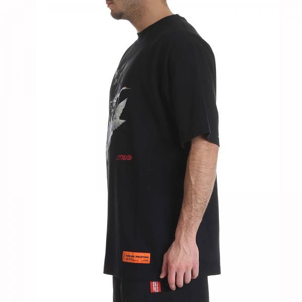 Preston Primavera 2019 Heron Hmaa001s19632049giglio Hombre Camiseta Negro verano pExqfg