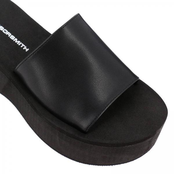 Primavera Negro Windsorsmith Mujer verano 2019 Zapatos De Chelseagiglio Cuña RqPnYnIwa
