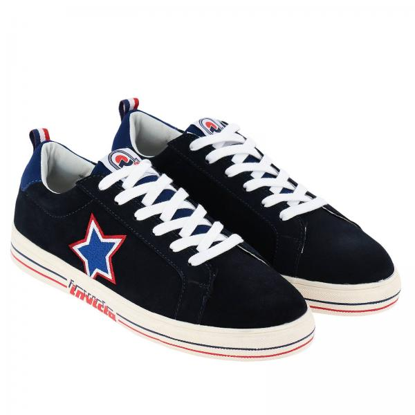 Stelle Stringata In Invicta Con Running Sneakers Camoscio bygYf6v7