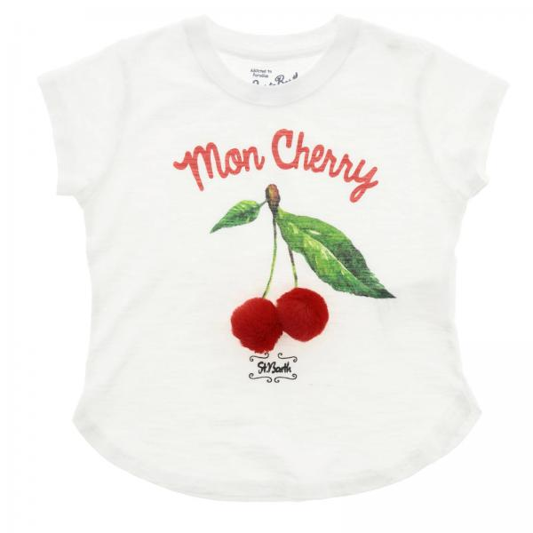 T-shirt Mc2 Saint Barth EMMA CHERRY POM PON 01